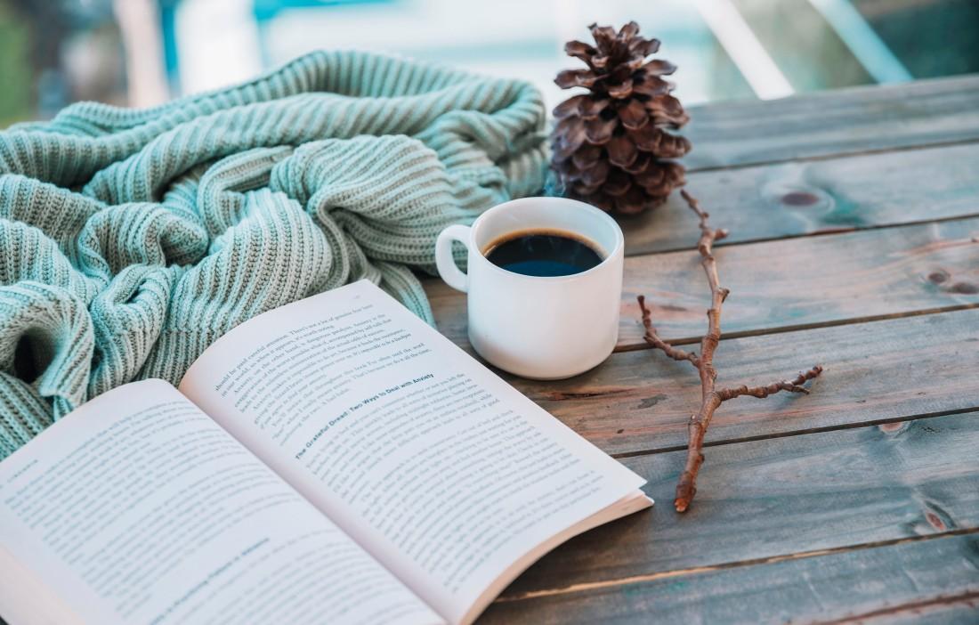 Leitura e café